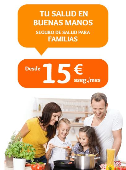 Seguros de Salud para Familias Promoción